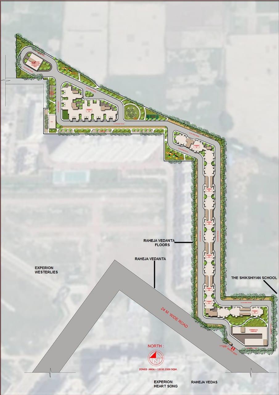 Agrante Kavyam Site Plan